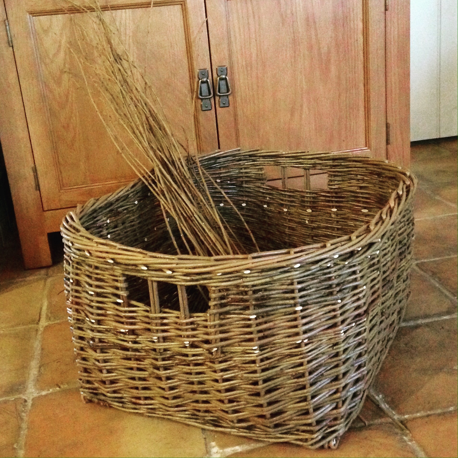 Uncategorized Shoe Basket march 2017 karen lawrence basketry ive had a productive day today so lovely to have full in thevworkshop finished this shoe basket for friends that got married last saturday